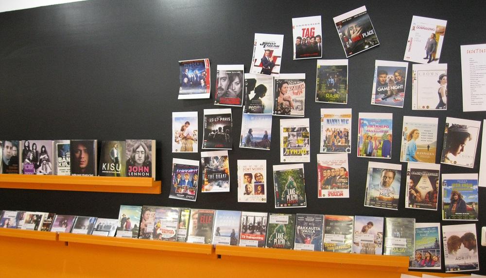 Musiikki- ja DVD-uutuuksia