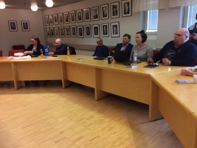 Kaupunginhallitus kokoontuu
