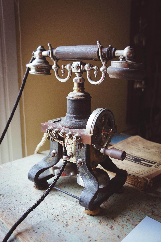 Vanha Puhelin Vaihdossa