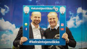 Janne Kinnunen ja Veikka Gustafsson